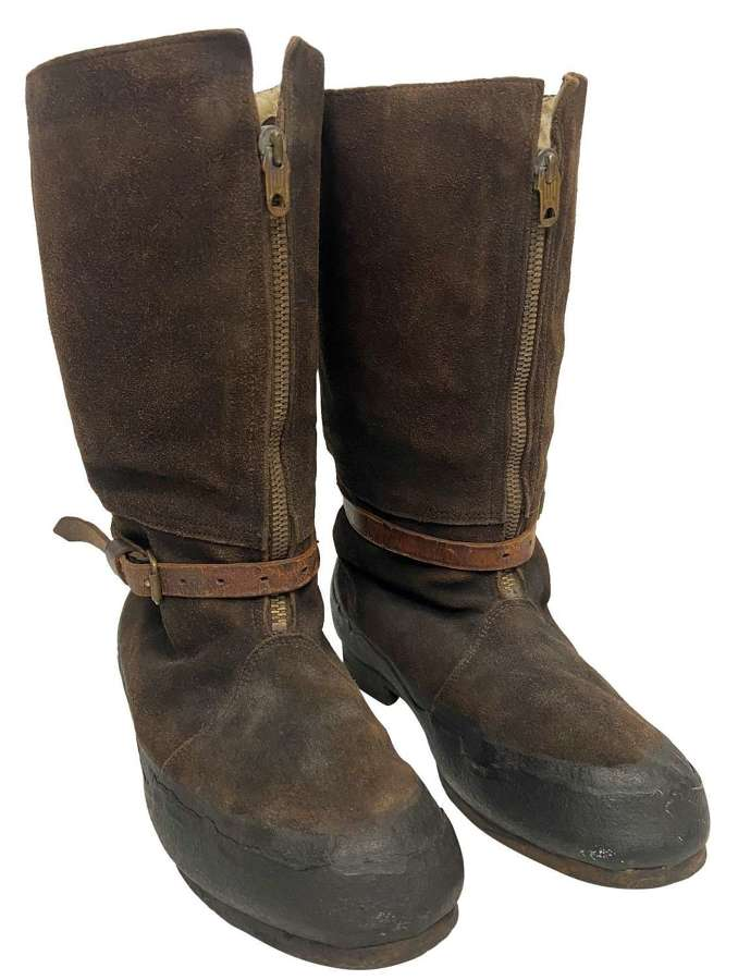 Original RAF 1941 Pattern Flying Boots