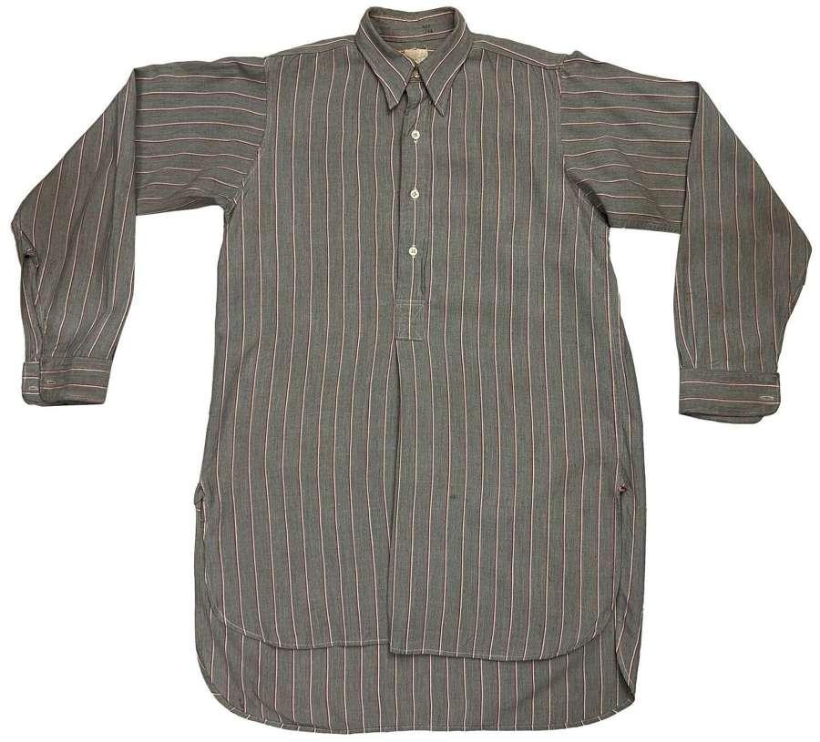 Original 1940s British Men's Collared Shirt by 'Unicorn' (2)