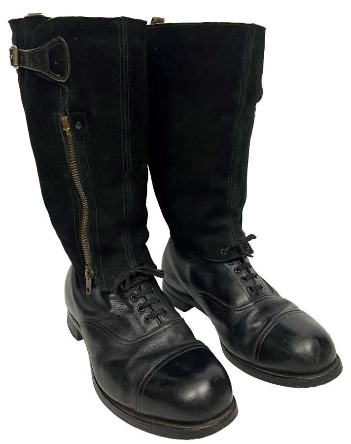 Original WW2 RAF 1943 Pattern Escape Boots