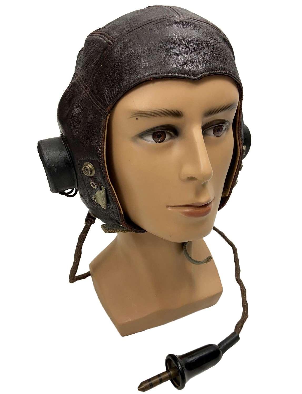 Original RAF C Type Flying Helmet - Size 4