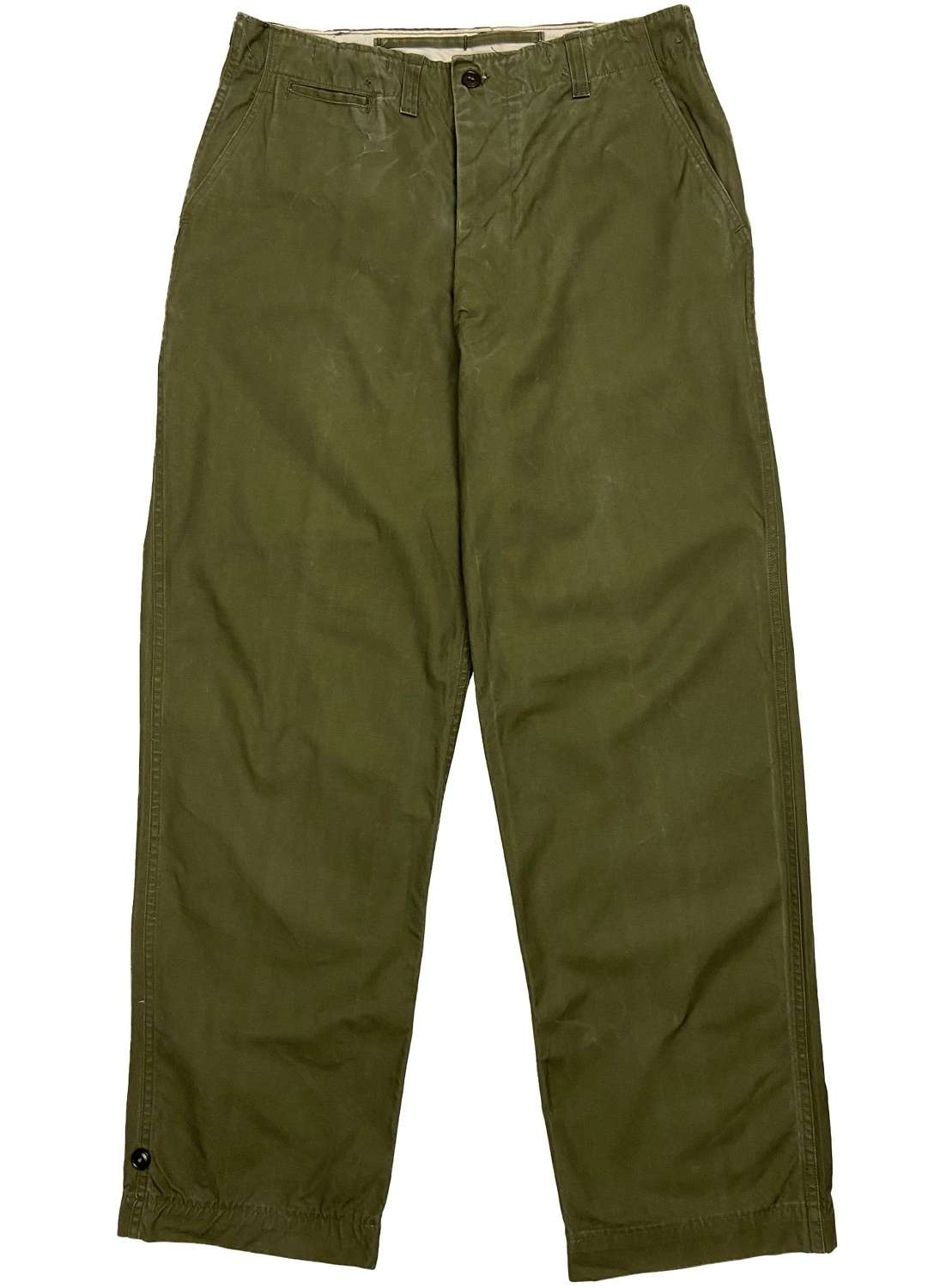 Original 1945 Dated US Army M1943 Trousers - 36x34
