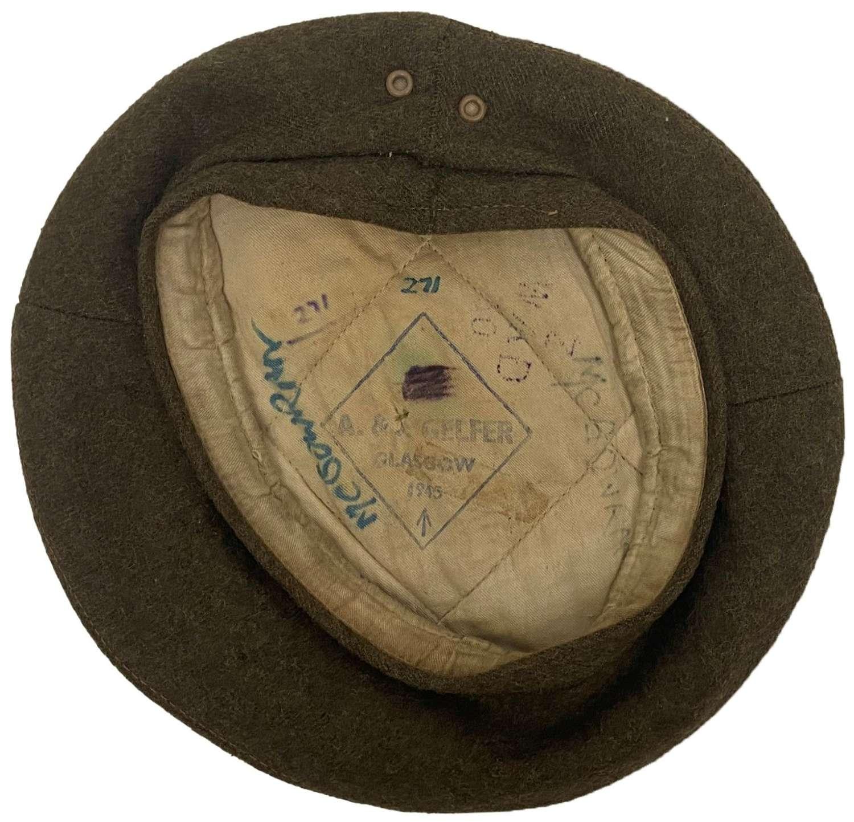 Original 1945 Dated British Army General Service Cap Beret