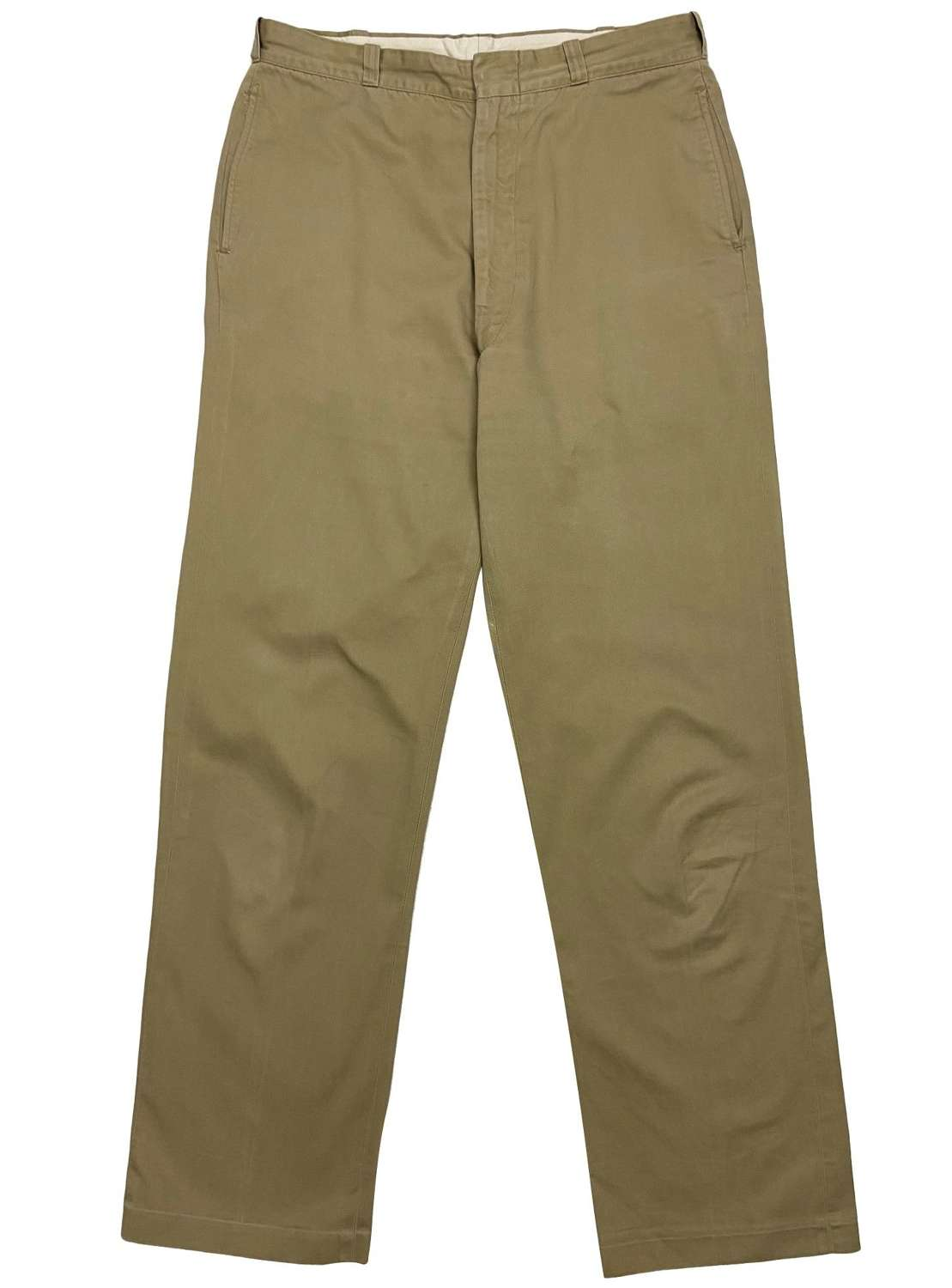 Original 1968 Dated US Army Chinos Trousers 34x34