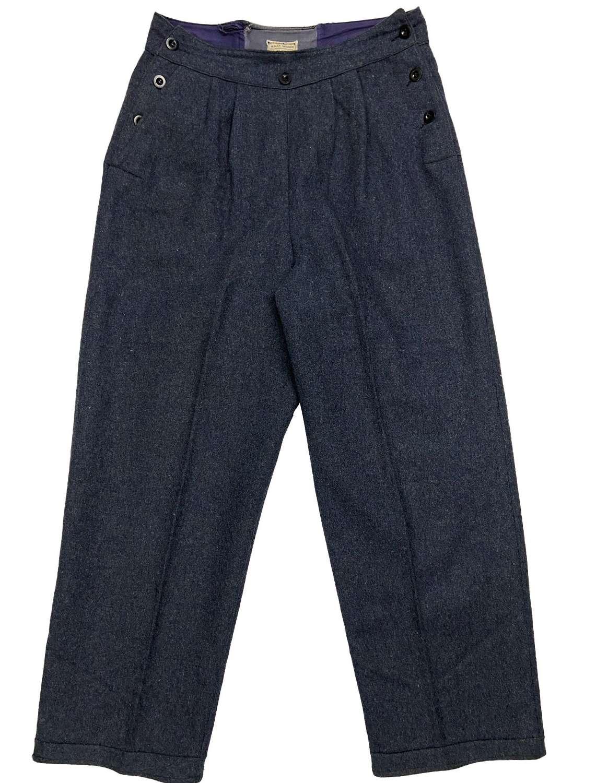 Original 1944 Dated WAAF Battledress Trousers