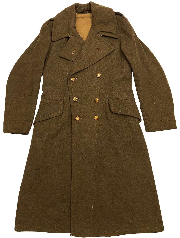 Original WW2 1939 Pattern (Dismounted) British Army Greatcoat