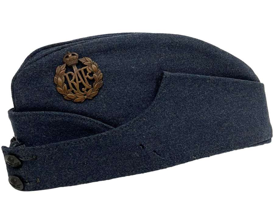 Original 1945 Dated RAF Forage Cap