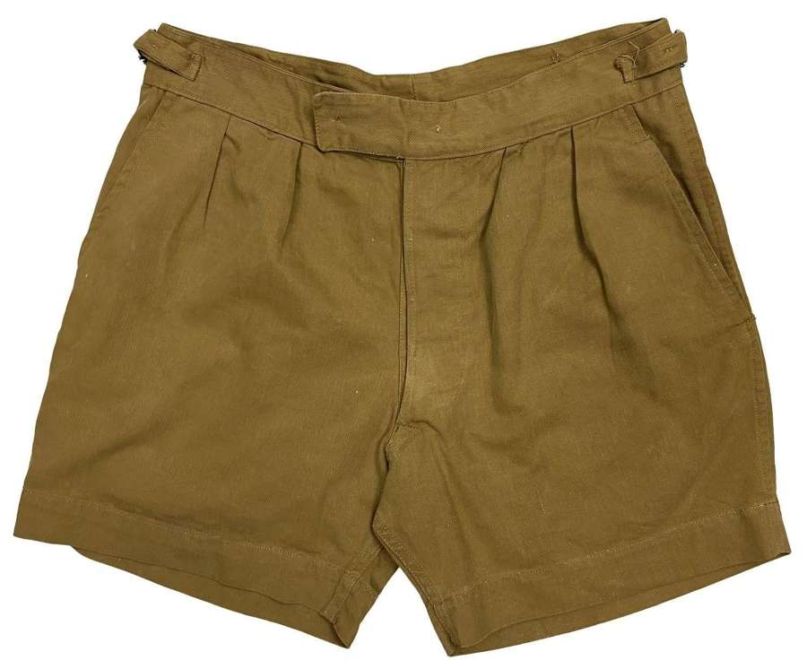 Original 1966 Dated British Military Shorts