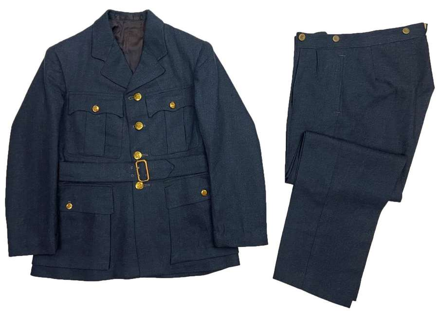 Original 1940s RAF Officers / Warrant Officers Tunic and Trousers
