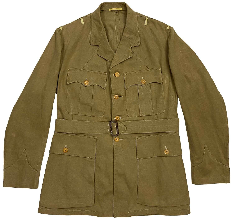 Original 1940s British Officers Khaki Drill Tunic