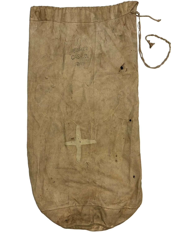 Original 1943 Dated Indian Made RAF Kit Bag