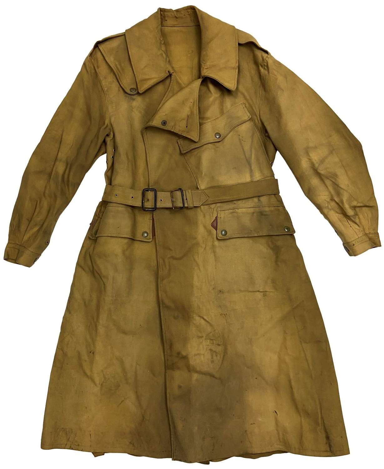 Original 1943 Dated British Army Dispatch Riders Coat by 'Albert Gill'