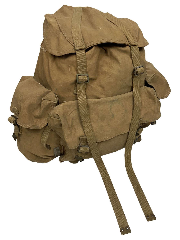 Original Early WW2 British Army Bergen Rucksack