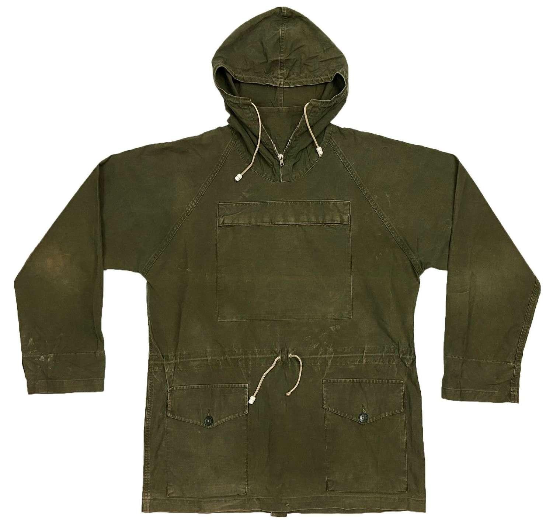 Original 1970s British Army Windproof Cadet Smock - Size 4