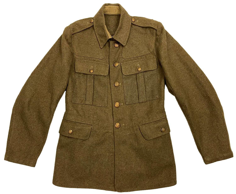 Original 1943 Dated British Army Ordinary Ranks Service Dress Tunic