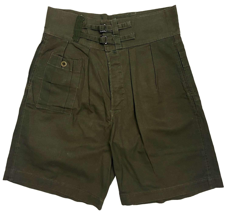 Scarce Original 1944 Dated British Army 'Shorts, Jungle'