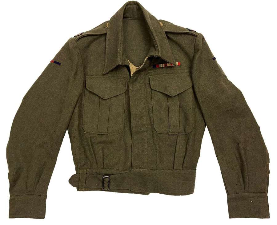 Original 1944 Dated Royal Engineers Majors Battledress Blouse