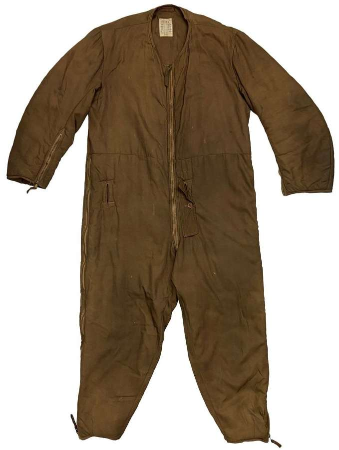 Original WW2 RAF 1941 Pattern Sidcot Suit Liner
