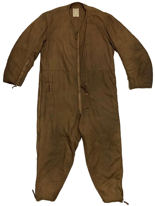 Original WW2 RAF 1941 Pattern Sidcot Suit Liner