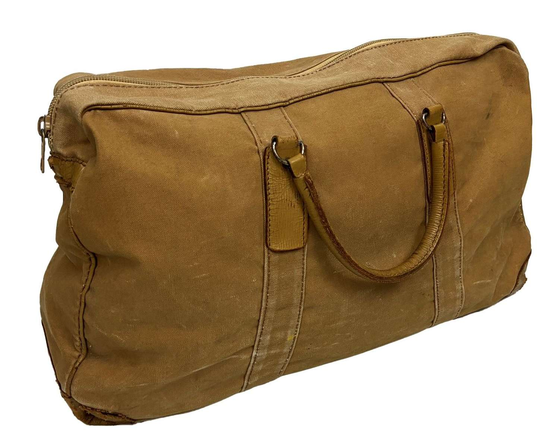Original British Officers Holdall Grip Bag
