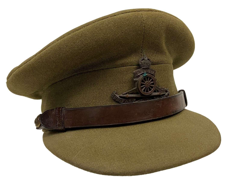 Original 1950s British Army Officers Peaked Cap by 'Herbert Johnson'