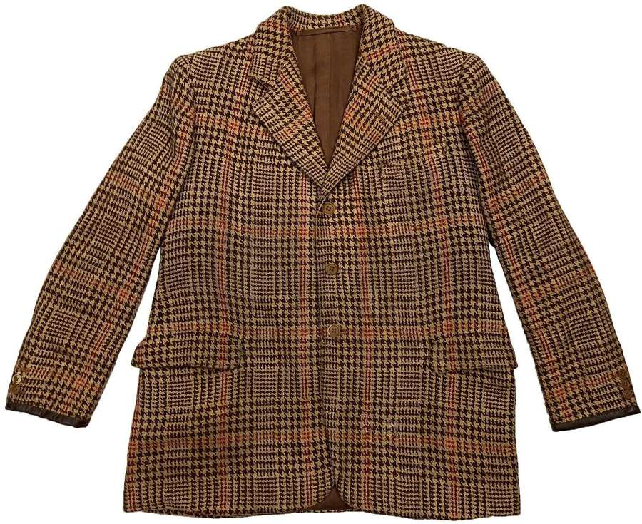 Rare Original 1930s British Dogtooth Sports Jacket