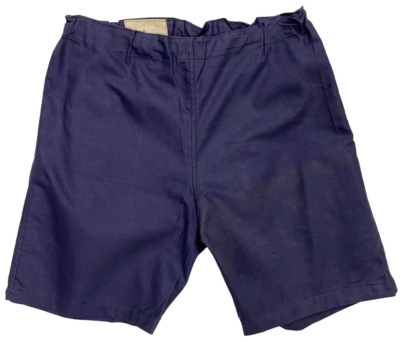 Original 1941 Dated British Physical Training Shorts - Size 4