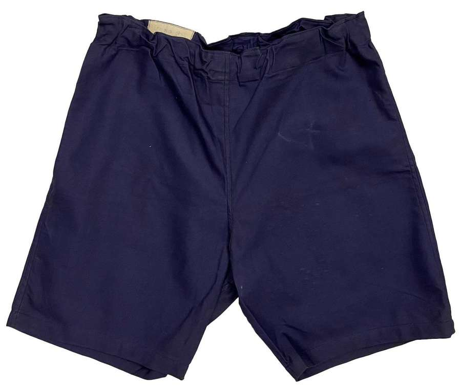 Original 1941 Dated British Military Physical Training Shorts - Size 4