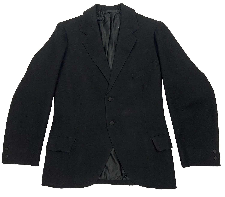 Original 1920s British Black Lounge Jacket
