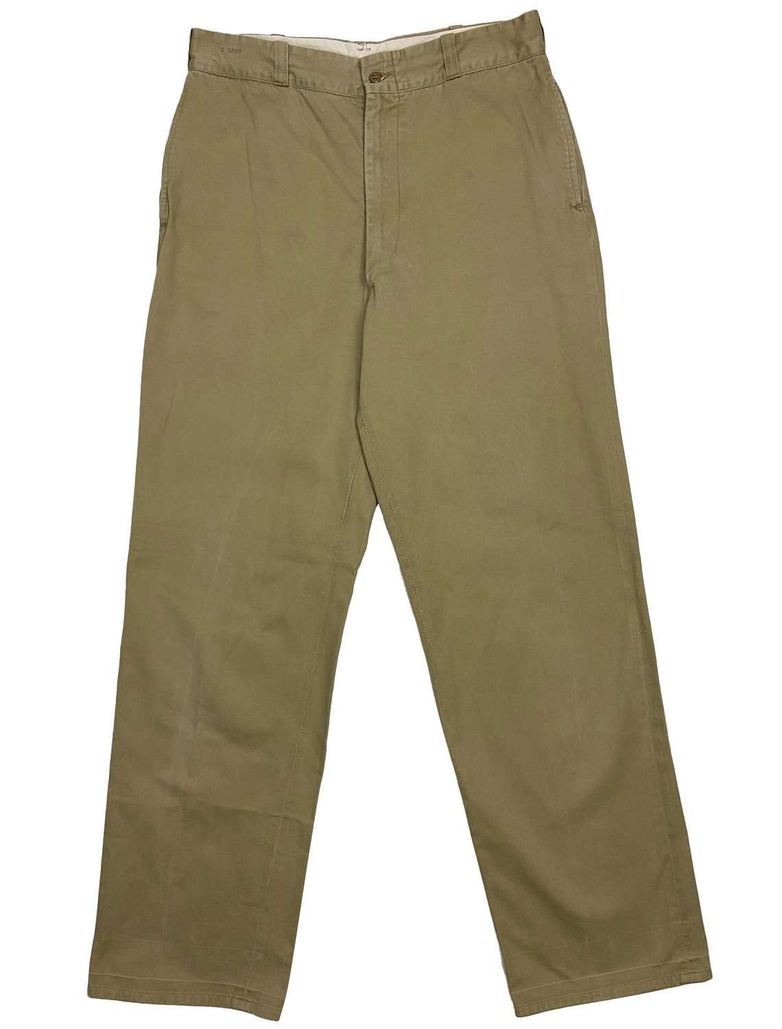 Original 1967 Dated US Army Chinos Trousers 34x33