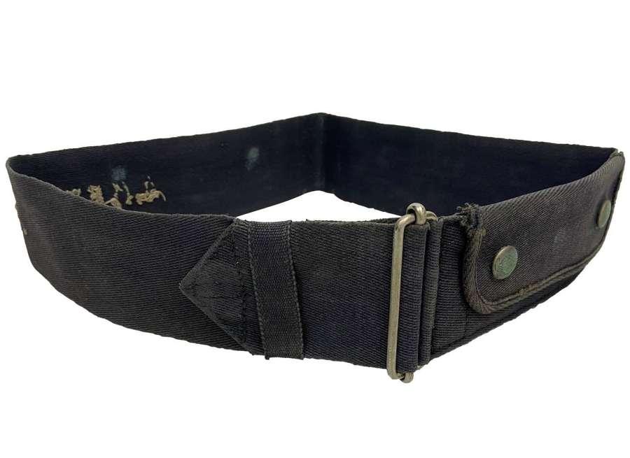 Original Royal Navy Austerity Pattern Class II Waist Belt