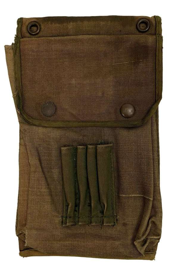 Original WW2 Jungle Green Map Case