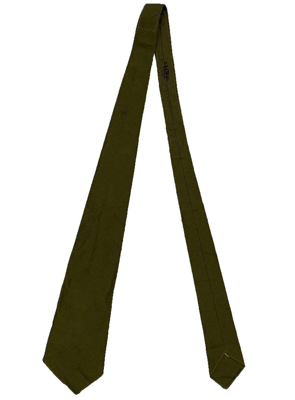 Original 1940 Dated British Army Neck Tie