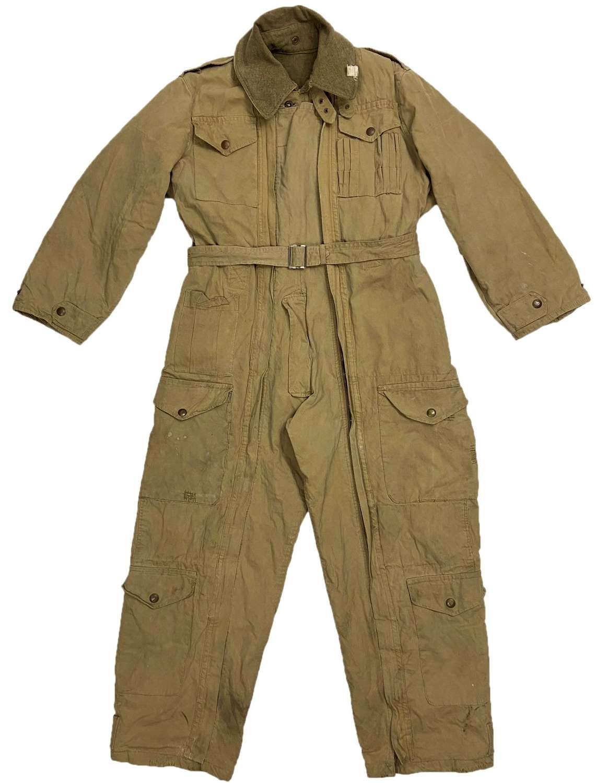 Rare Original 1944 Dated British Army Tank Suit - Size 3