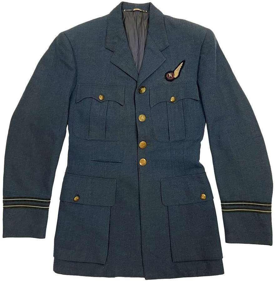 Original 1953 Dated RAF Officers Tunic with Navigator Brevet
