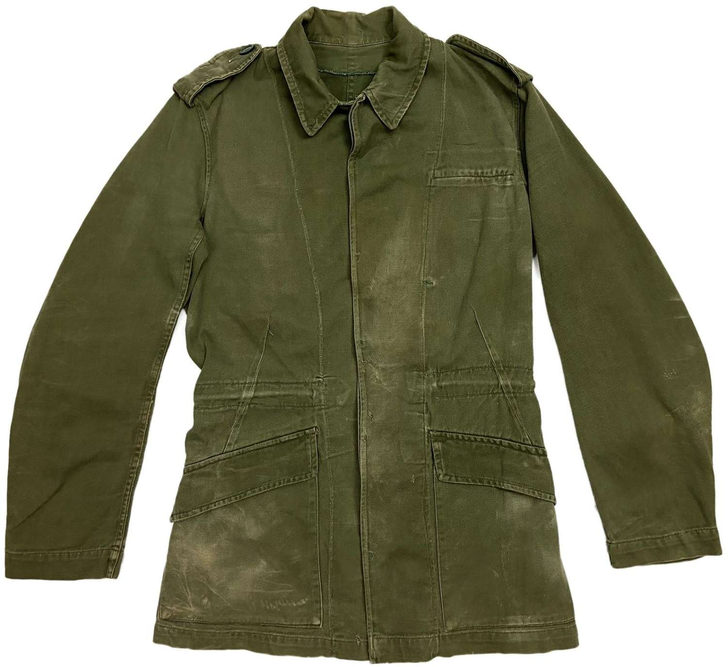 Original 1964 Dated 'Jacket, Overall, Green' - Size 7