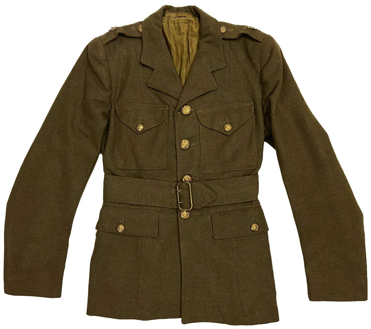 Original 1942 Dated Auxiliary Territorial Service Tunic - Size No. 1