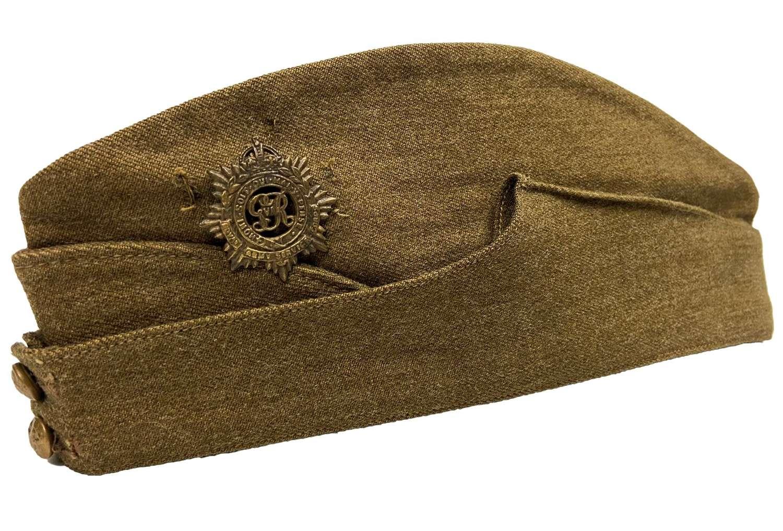 Original 1939 Dated British Army Field Service Cap - Size 6 7/8