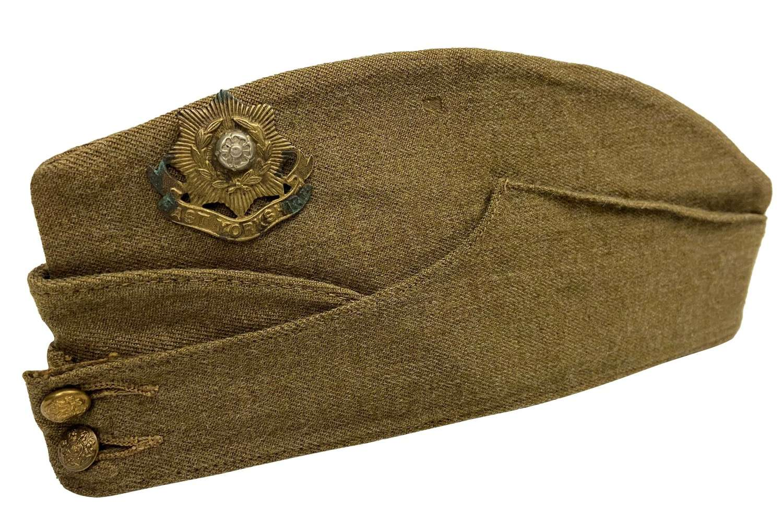 Original WW2 British Army Field Service Cap - Size 7 5/8