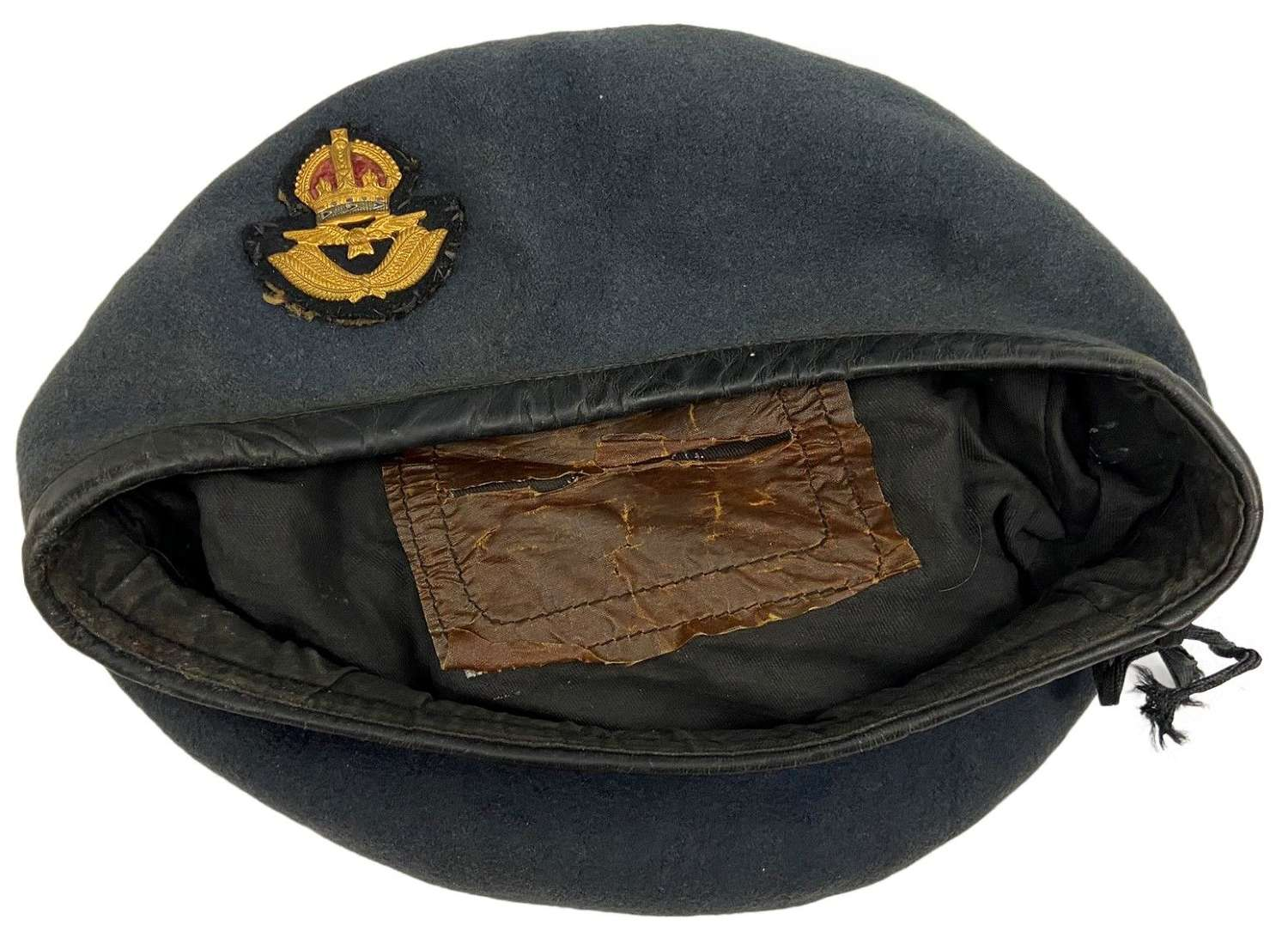 Original 1952 Dated Royal Air Force Officers Beret - Size 7 1/4