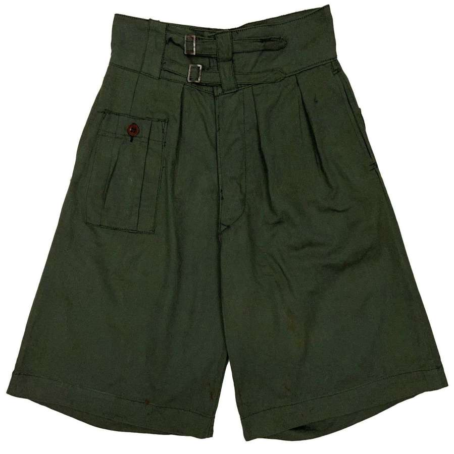 Scarce Original WW2 1944 Dated British Made 'Shorts, Jungle'