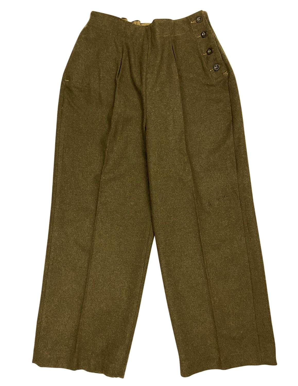 Original First Pattern 1941 Dated ATS Slacks - Size 6