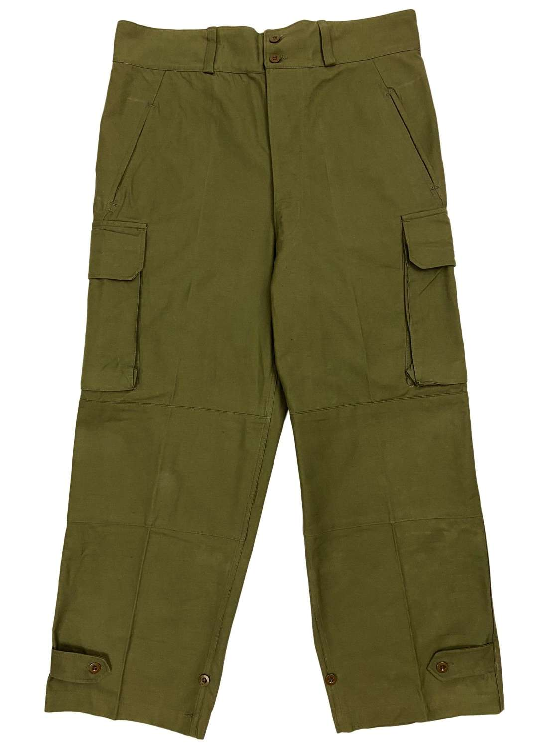 Original 1953 Dated French Army M47 Trousers - Size 36