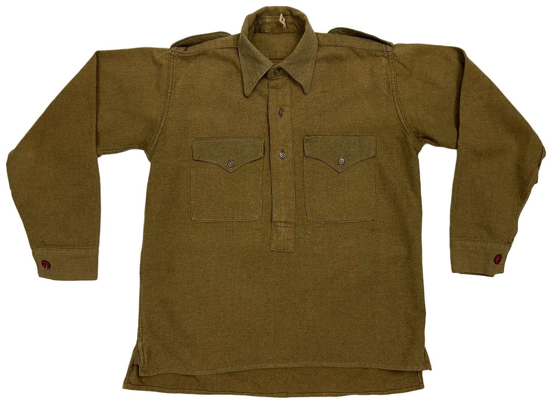 Original 1940s Converted British Work Shirt