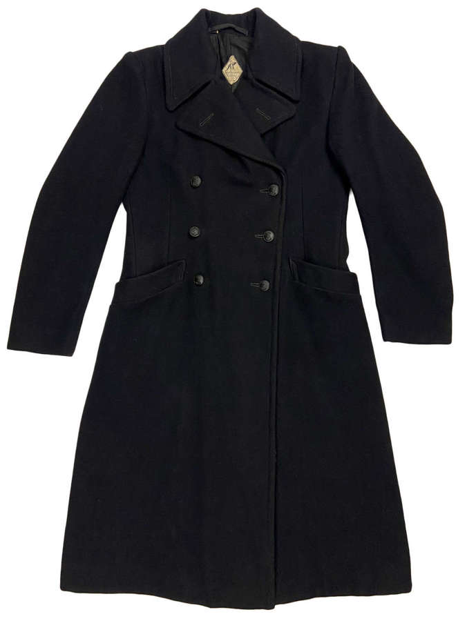 Scarce Original 1945 Dated WRNS Greatcoat - Size 5