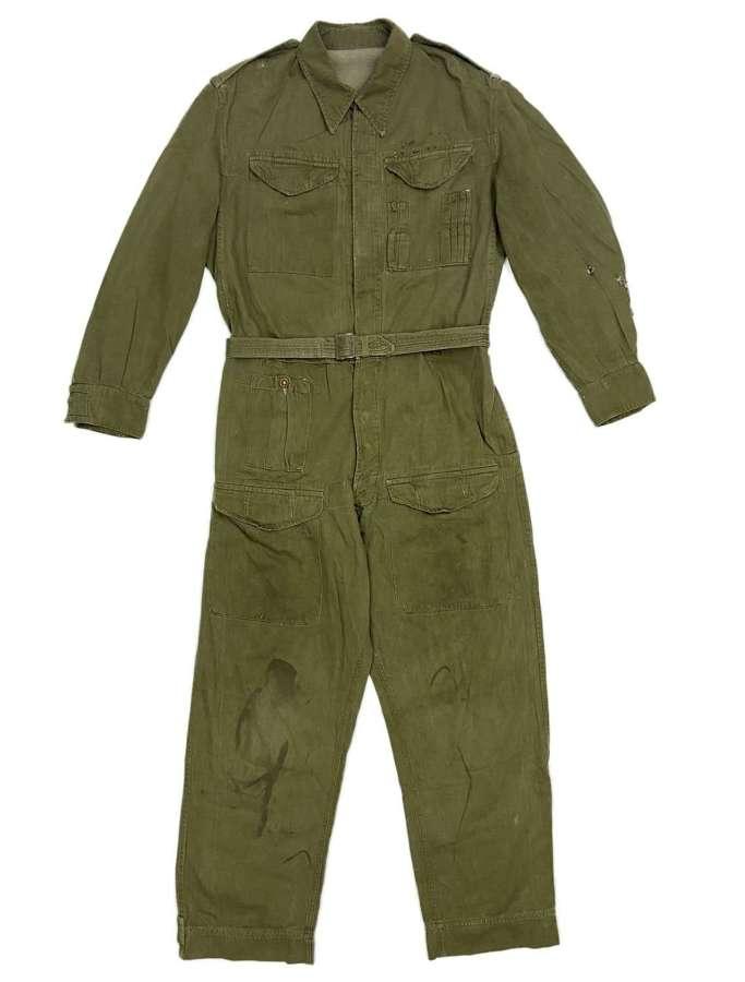 Original British Army Denim Tank Suit - Size 5