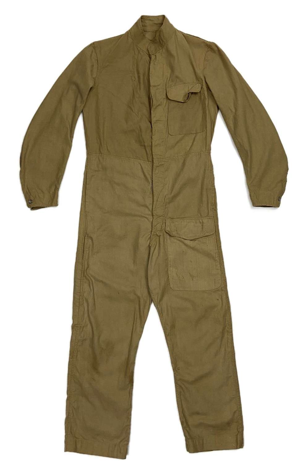 Original 1942 Dated Indian made British Army Khaki Drill MT Coveralls