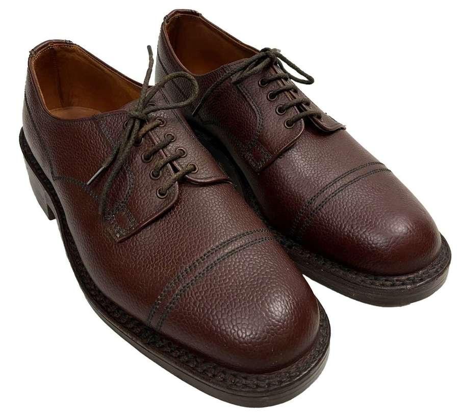 Original Men's Veldtschoen Brown Leather Shoes by 'George Webb'