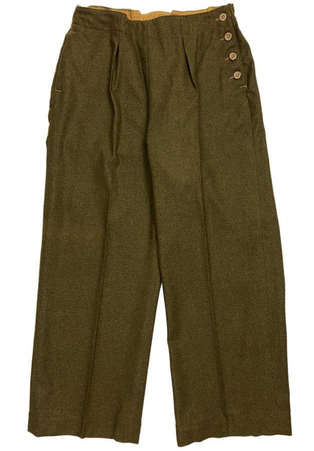 Original 1941 Dated ATS Slacks - Size 7