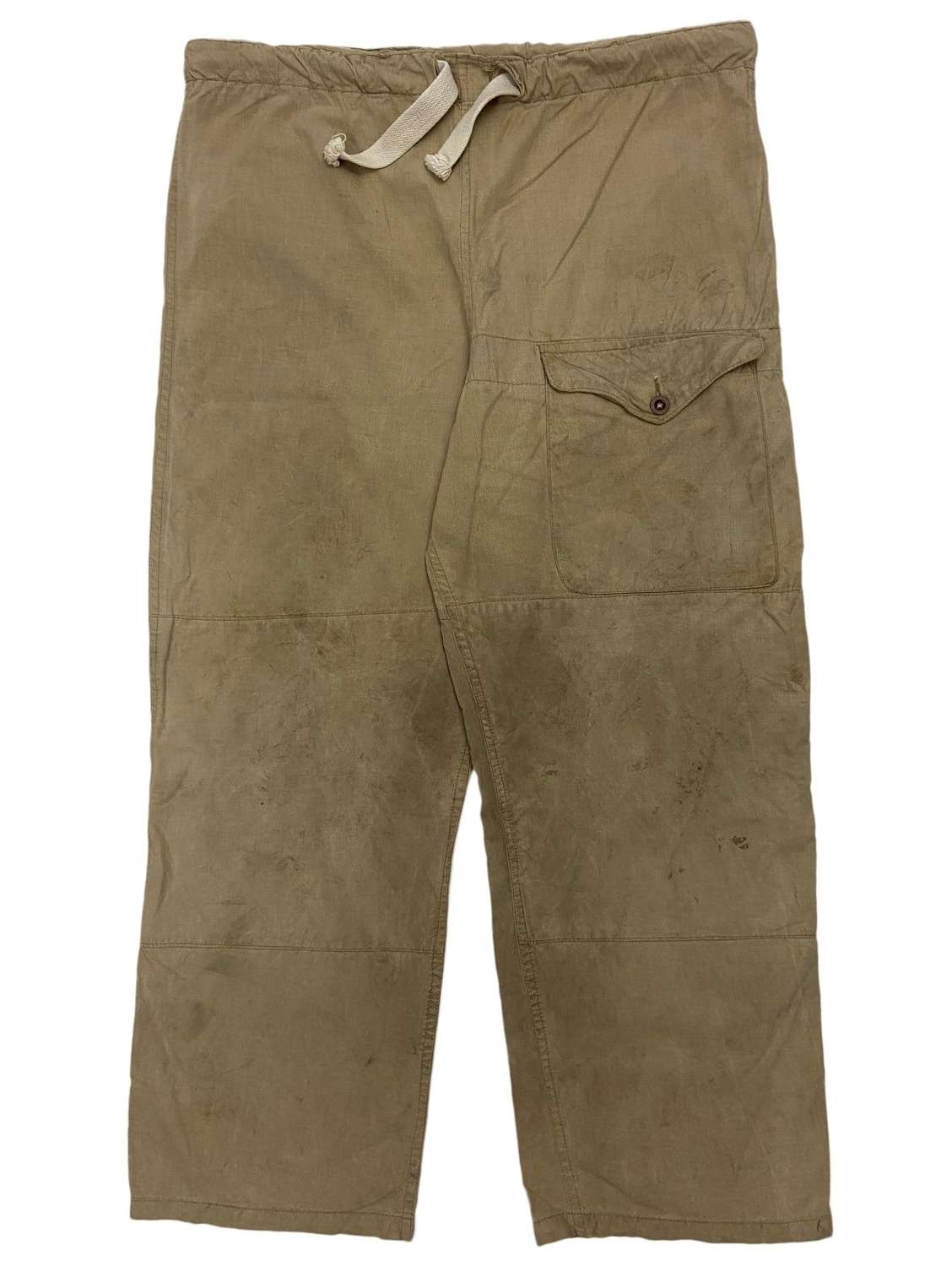 Original 1942 Dated Windproof 'Trousers Drab' - Size 2