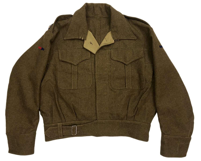 Original WW2 Theatre Made Royal Engineers Majors Battledress Blouse